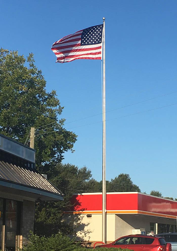 Our flag USA Raleigh